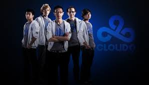 LoL Team Cloud 9 - all 5 members