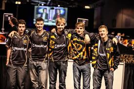 Esports Pro Team Fnatic all 5 members