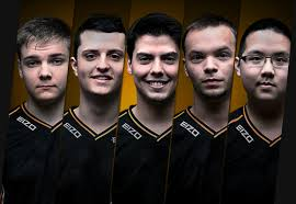 League of Legends Team Fnatic - all 5 members