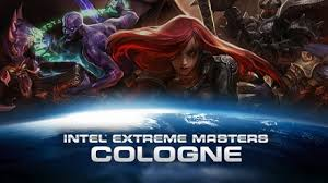 League of Legends tournament the the Intel Extreme Masters in Cologne Logo