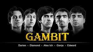League of Legends Pro team Gambit Gaming all 5 members