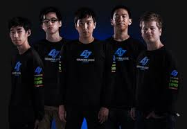 LoL pro team Counter Logic Gaming all 5 members
