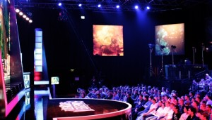 ESL Arena Cologne - the eSports arena where the matches of the LCS EU Promotion where held