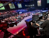 Live Crowd at the LCS Arena in California
