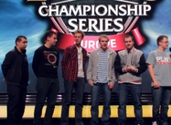 LCS EU Team Roccat: All 5 players + coach
