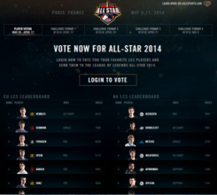 all-stars voting screenshot