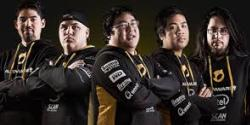 LCS Team dignitas - all 5 members