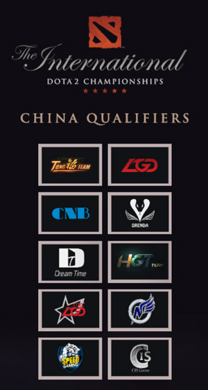 TI 4 chinese qualifier