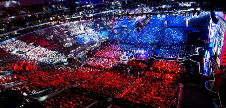 LoL World Championship arena screenshot