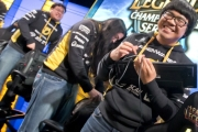 Dignitas LCS-NA Team after match