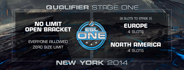 ESL One New York 2014 Qualifier Stage one