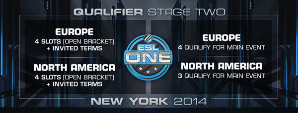 ESL One New York 2014 Qualifier Stage two