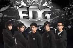 Chinses LPL Team Edward Gaming