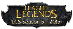 Logo of LCS Sesason 5 - 2015 - League of Legends