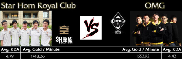 LoL World Championship Semi-Final 2: Star Horn Royal Club vs OMG - Teaser Image