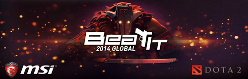 MSI Beat IT 2014 Dota2