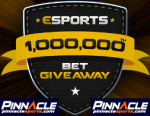 Onemillion esports bet Pinnacle Sports Promo