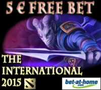 TI5 Free Bet Promotion Banner - Bet at Home