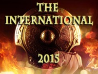 TI5 - Dota 2 The International 2015 Logo