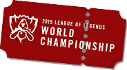 Ticket Image - League of Legends World Championship 2015