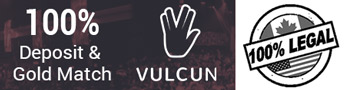 Vulcun esports betting banner