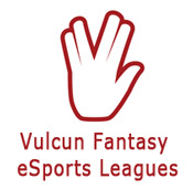 Vulcun fantasy esports betting logo