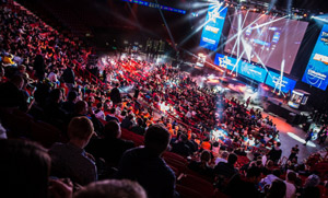 CS:GO Dreamhack Stockholm 2015 Crowd