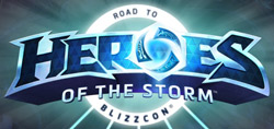 Heroes of the Storm World Championship 2015 Logo