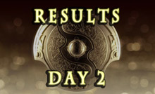 TI5 main event day2 results