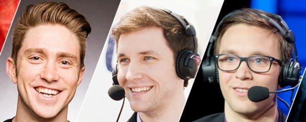 Analyst Desk Team at LoL worlds