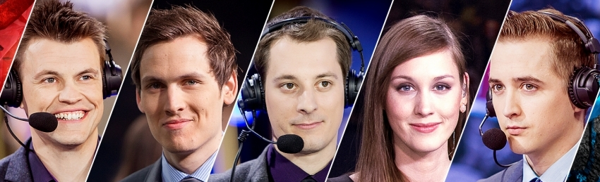 EU LCS Casters LoL Worlds 2015