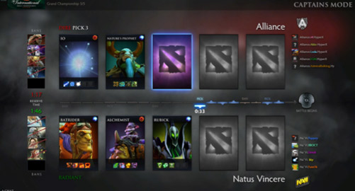 Dota 2 Captains Mode Draft