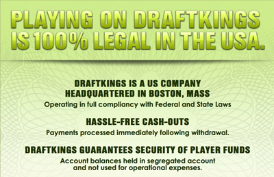 Draftkings USA legal fantasy betting declaration