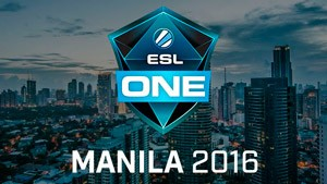 ESL One Manila 2016 Dota2 Tournament