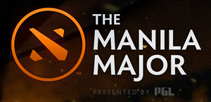 Manila Major Tournament Dota 2 Logo