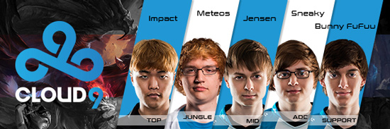 Team Cloud9 Roster LCS NA 2016 Summer Split all Players