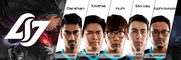 Team Counter Logic Gaming Roster LCS NA 2016 Summer Split all Players