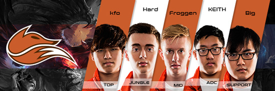 Team Echo Fox Roster LCS NA 2016 Summer Split all Players