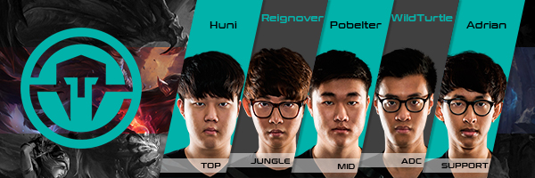 Team Immortals Roster LCS NA 2016 Summer Split all Players