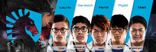 Team Liquid Roster LCS NA 2016 Summer Split all Players