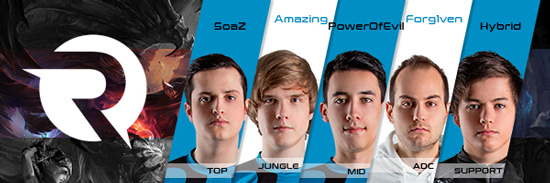 Team Origen Roster LCS EU 2016 Summer Split all Players