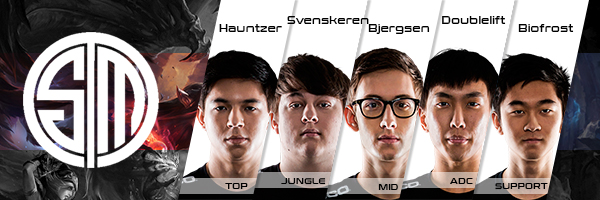 Team SoloMid Roster LCS NA 2016 Summer Split all Players