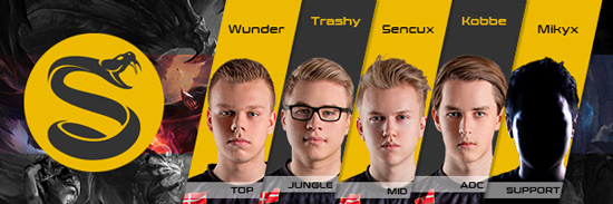 Team Splyce Roster LCS EU 2016 Summer Split all Players