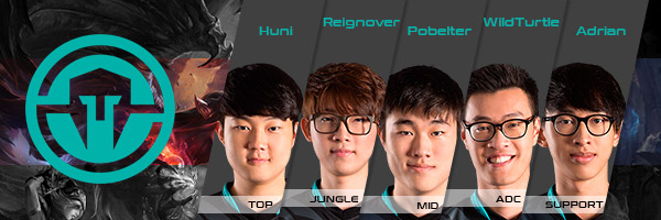 Immortals - Team and Players, NA LCS
