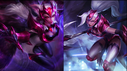 Challenger Skin - Ahri and Nidalee - League of Legends