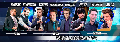 Play by Play Commentators - League of Legends World Championship 2016