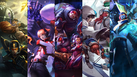 Teams Skins - League of Legends