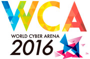 World Cyber Arena 2016 - CSGO Tournament Logo