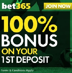Bet365 first deposit bonus screenshot