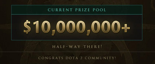 10 mill dollar ti7 prizepool update